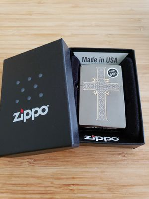 Zippo lighter Embossed Cross (New/Sealed) for Sale in Chicago, IL