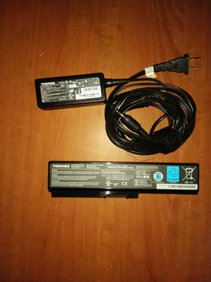 Toshiba Satellite Laptop Lithium - Ion Battery and Charger for Sale in San Francisco, CA