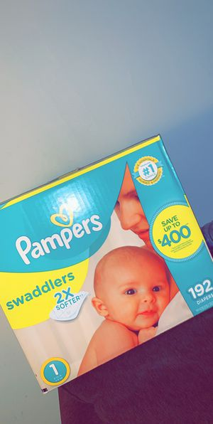 Pampers size 1 for Sale in Mount Prospect, IL