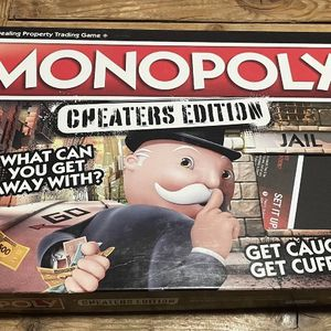 Cheaters monopoly board game like new for Sale in Portland, OR