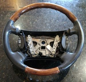 2001-2003 JAGUAR X-TYPE WOOD GRAIN STEERING WHEEL WITHOUT AIR BAG for Sale in Damascus, MD