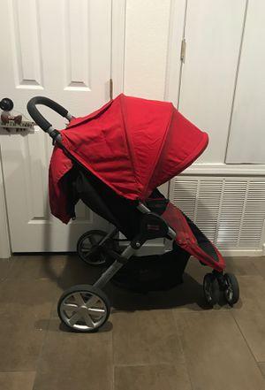 Britax B-Agile One Hans Quick Fold Lightweight Red Stroller for Sale in San Antonio, TX