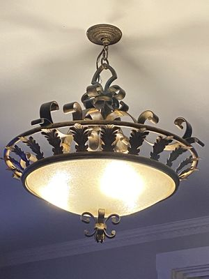 Light fixture for Sale in Lafayette Hill, PA