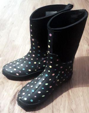 Polka dot rain boots for Sale in Longview, TX