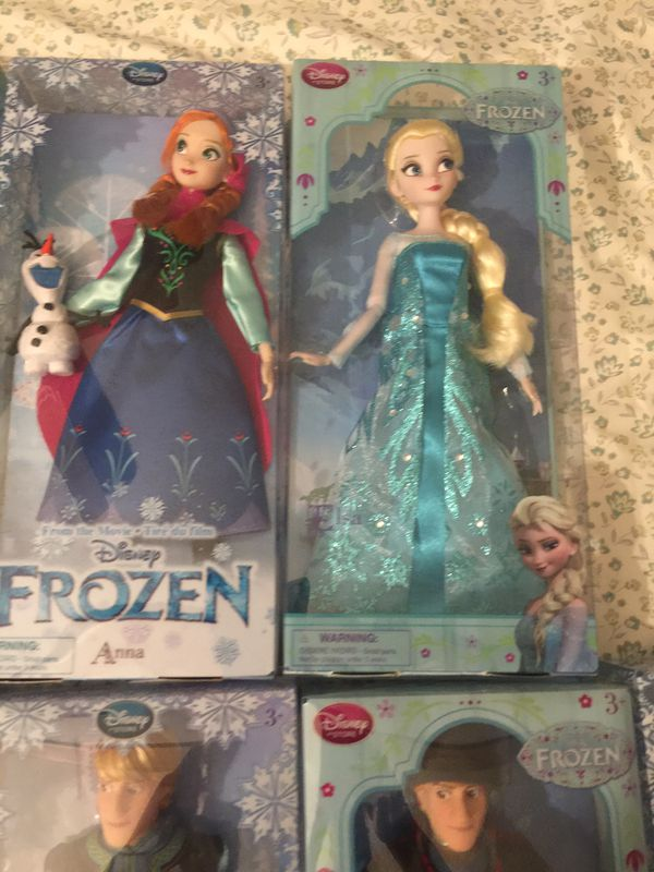 Disney Frozen Doll collection
