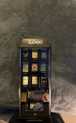 Zippo collection with case for Sale in Brick, NJ