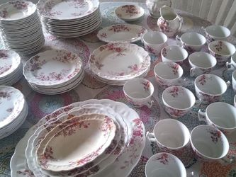 Antique Booths China Set $450 for Sale in Dinuba,  CA
