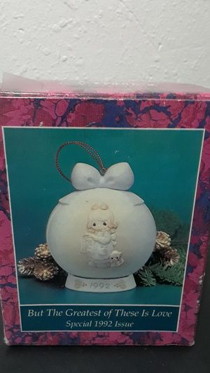 Precious Moments Enesco 1992 Ornament for Sale in Tampa, FL