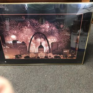 Arch fireworks picture for Sale in St. Louis, MO