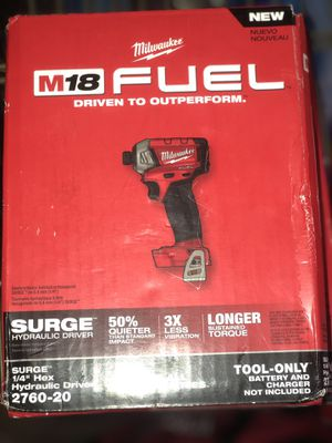 Milwaukee Hydraulic driver BRAND NEW $100 for Sale in Las Vegas, NV