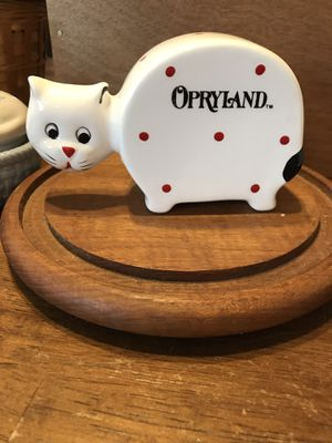 Cute! Collectors Kitty Porcelain Bank. for Sale in Gainesville, VA