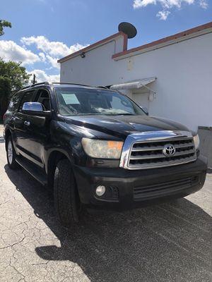 Toyota Sequoia Platinum for Sale in Fort Lauderdale, FL