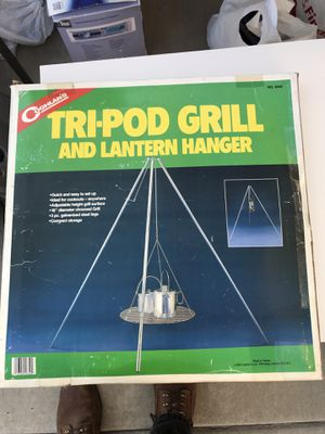 Tripod grill and lantern hanger for Sale in Corona, CA