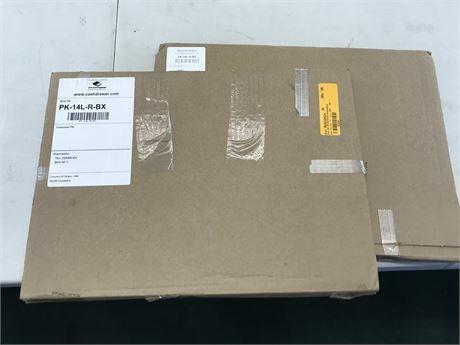 APG Cash Drawer PK-14L-R-BX Inc Steel Locking Till Cover Pack Of 2 MSRP: $59.99