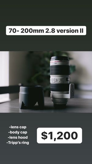 Canon gear for sale. Price firm. No trades. for Sale in San Lorenzo, CA