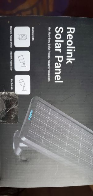 Reolink solar panel for Sale in Chicago, IL