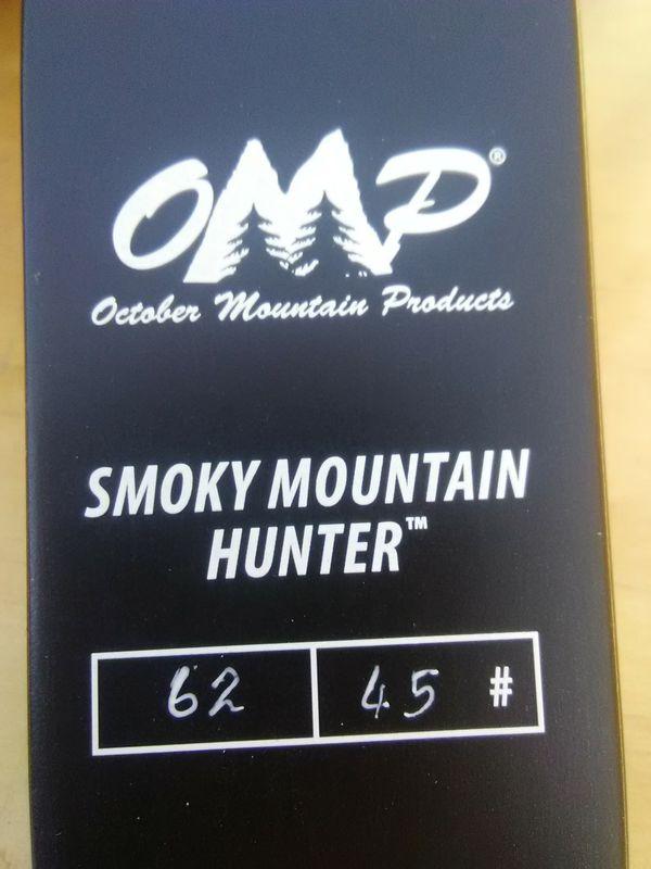 OMP Smoky Mountain Hunter recurve bow