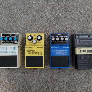 BOSS PEDALS for Sale in Alameda, CA
