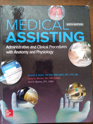 Medical assistant book for Sale in La Puente, CA