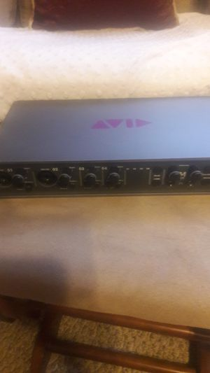 M box pro fire wire audio interface for Sale in Haverhill, MA
