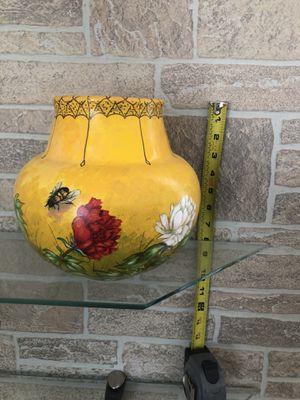 Hand painted ceramic vase for Sale in Leesburg, VA