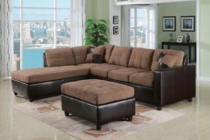 SOFA SECTIONAL NEW IN BOX VELVET SECCIONAL NUEVO EN SU CAJA for Sale in Hollywood, FL