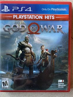 God of War PS4 for Sale in Colton,  CA