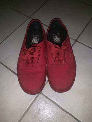 Red Vans for Sale in Miami, FL