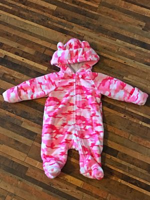 Warm infant pink cameo suit for Sale in Peyton, CO