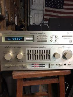 Marantz PM 700 DC Receiver , and Marantz St 5 Stereo Tuner. for Sale in Newport News,  VA