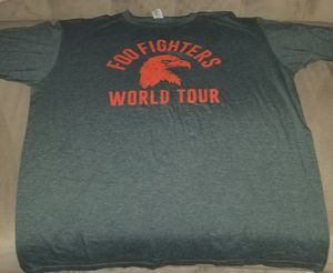 Foo Fighters Concert Tshirt for Sale in Orosi, CA