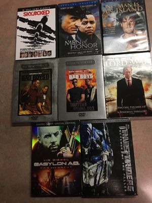 Package number 12 I have some really good movies for Sale in Lampasas, TX