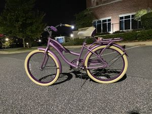 Women's cruiser bike purple yellow for Sale in Baltimore, MD
