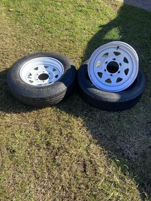 Trailer rims and tires for Sale in Sicklerville, NJ