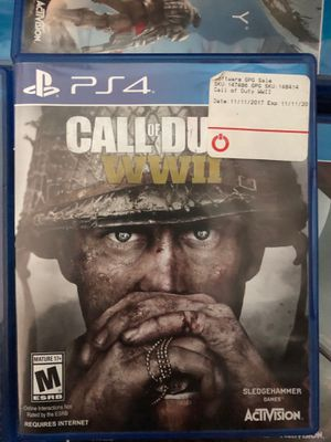 Call of Duty WW 2 PS4 game for Sale in Mountain View, CA