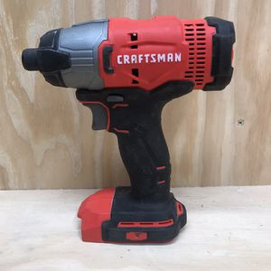 Impact 20v Craftsman for Sale in St. Charles, IL