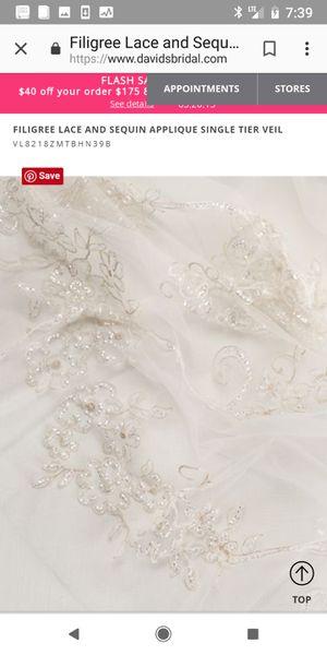 Wedding veil for Sale in Dallas, TX