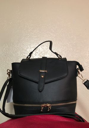 Black backpack purse for Sale in Vallejo, CA