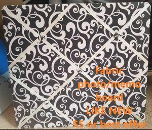 Fabric photo/memo board for Sale in Surprise, AZ