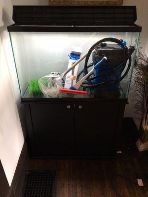 45 gallon aquarium COMPLETE setup for Sale in Columbus, OH