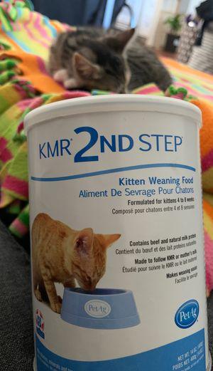 KMR 2nd Step Kitten weaning food. for Sale in Buena Park, CA
