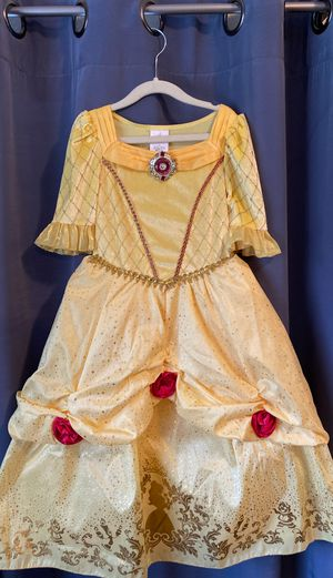 Disney princess dresses size 5/6 for Sale in Riverside, CA