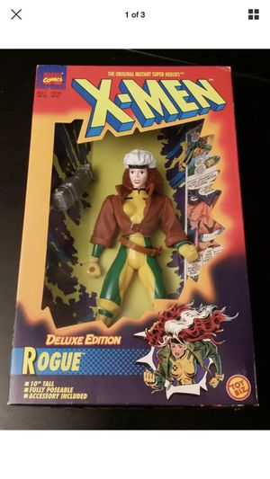 1996 Vintage Toy Biz Marvel X-Men Rogue Deluxe Edition Action Figure NIP for Sale in Puyallup, WA