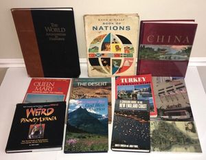 Travel Book Lot - All this $5 for Sale in Port St. Lucie, FL