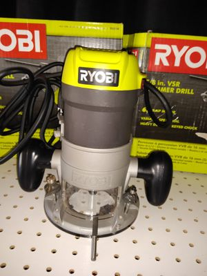 RYOBI 8.5 Amp 1-1/2 Peak HP Fixed Base Router for Sale in Temple, GA