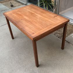Mid Century Danish Modern Dining Table With Extension TEAK! for Sale in Orange,  CA