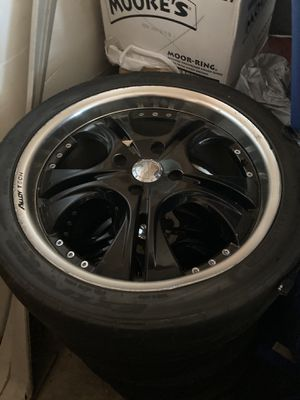 18 inch Rims and Tires for Sale in Willingboro, NJ