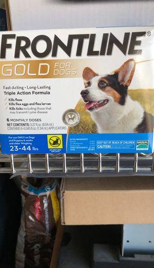 Frontline Gold For Dogs ( 6 month supplies) for Sale in Tracy, CA