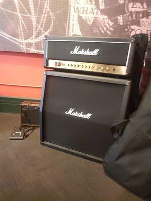Marshal Guitar Amp Half Stack DSL100H for Sale in Detroit, MI