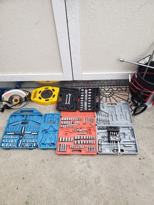 Tools, sockets, saw, misc tools for Sale in Lakewood, CA